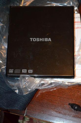quemador de doble capa de dvd toshiba