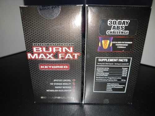 quemador de grasa - adelgaza baja de  peso - burn max fat