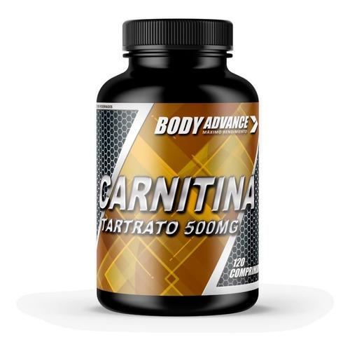 quemador de grasa. carnitina 120 comprimidos. body advance