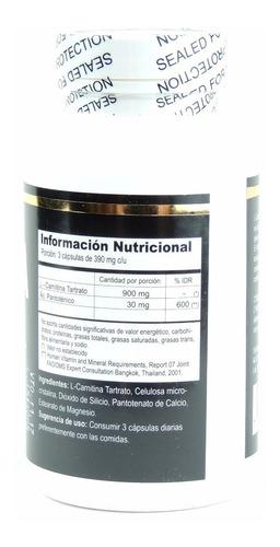 quemador de grasa l- carnitina plus b5 sylab 30 tabletas