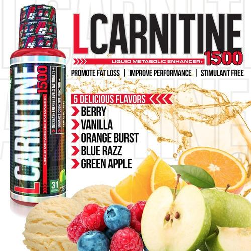 quemador de grasa líquida prosupps l-carnitine 1500.