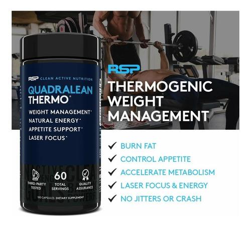 quemador de grasa quadralean termogenico energizante cla