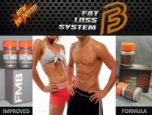 quemador de grasas fat max burn - el original 100% efectivo