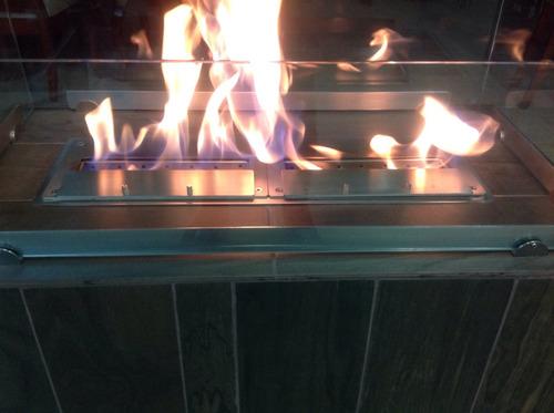quemador doble fabricado con material de primera calidad cor