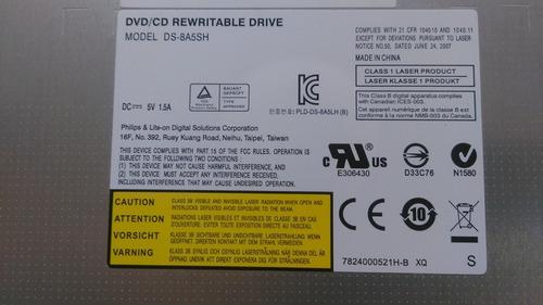 quemador dvd acer