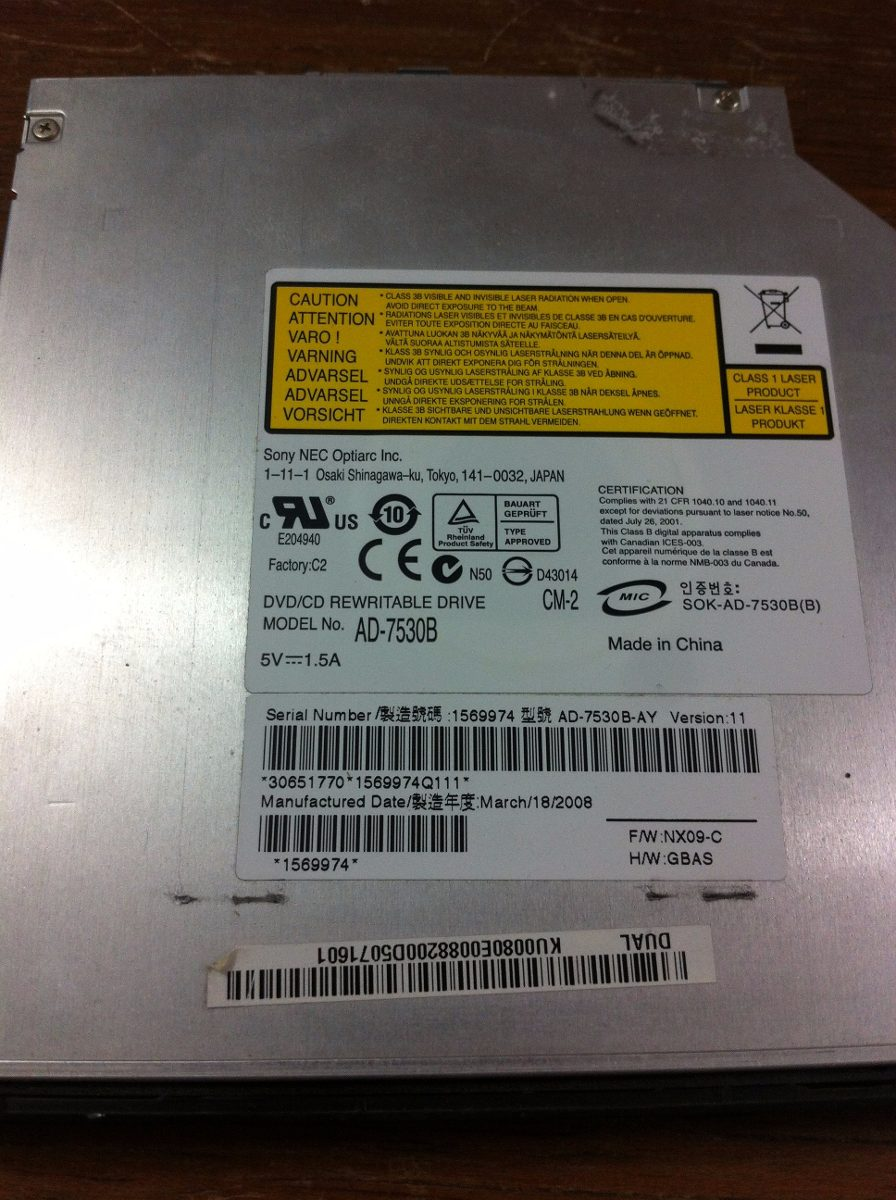 OPTIARC AD 7530B DRIVER FOR MAC