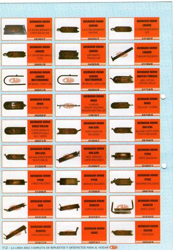 quemador horno pyfer  art. 01207/1 corto enlozado
