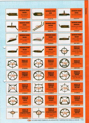 quemador horno siam art.01221/9  moderno chato