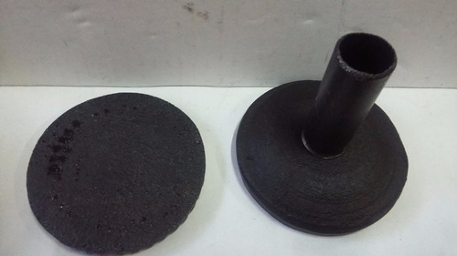 quemador industrial fundición lngas vertical con caño nro.1