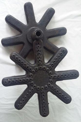 quemador mechero industrial fundicion estrella 21cm lngas