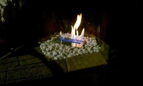 quemador para chimenea de etanol 30cm garantia de por vida