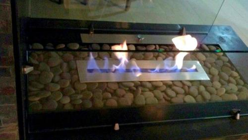 quemador para chimenea de etanol 80cm garantia de por vida