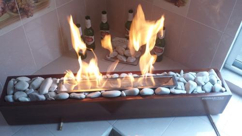 quemador para chimenea. inicia tu propio proyecto.