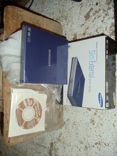 quemadora externa samsung slim dvd/cd portátil usb