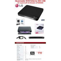 Unidad De Dvd Portatil Lg Gp50nb40 Nueva Super Slim Externa