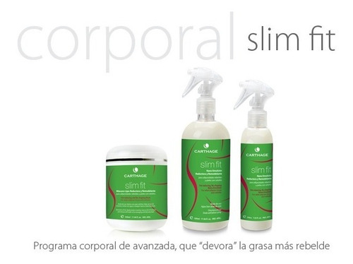 quemadores grasa kit slim fit reductor y modelador carthage