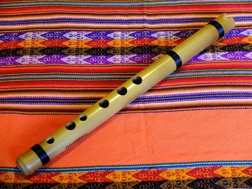 quena phusanaka andina de bambu afinacion 440