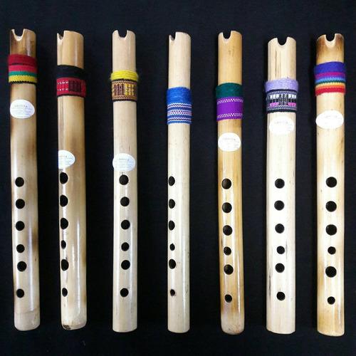 quenas para estudiantes en bambú.