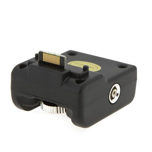 quente sapato adaptador câmera sem fio speedlite flash gatil