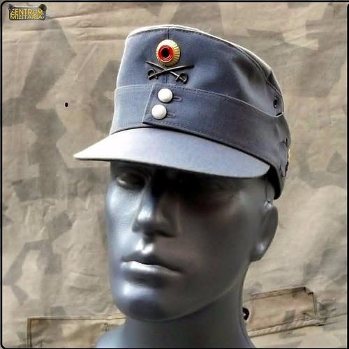 quepe alemão cinza gebirgsjäger mütze estilo m36