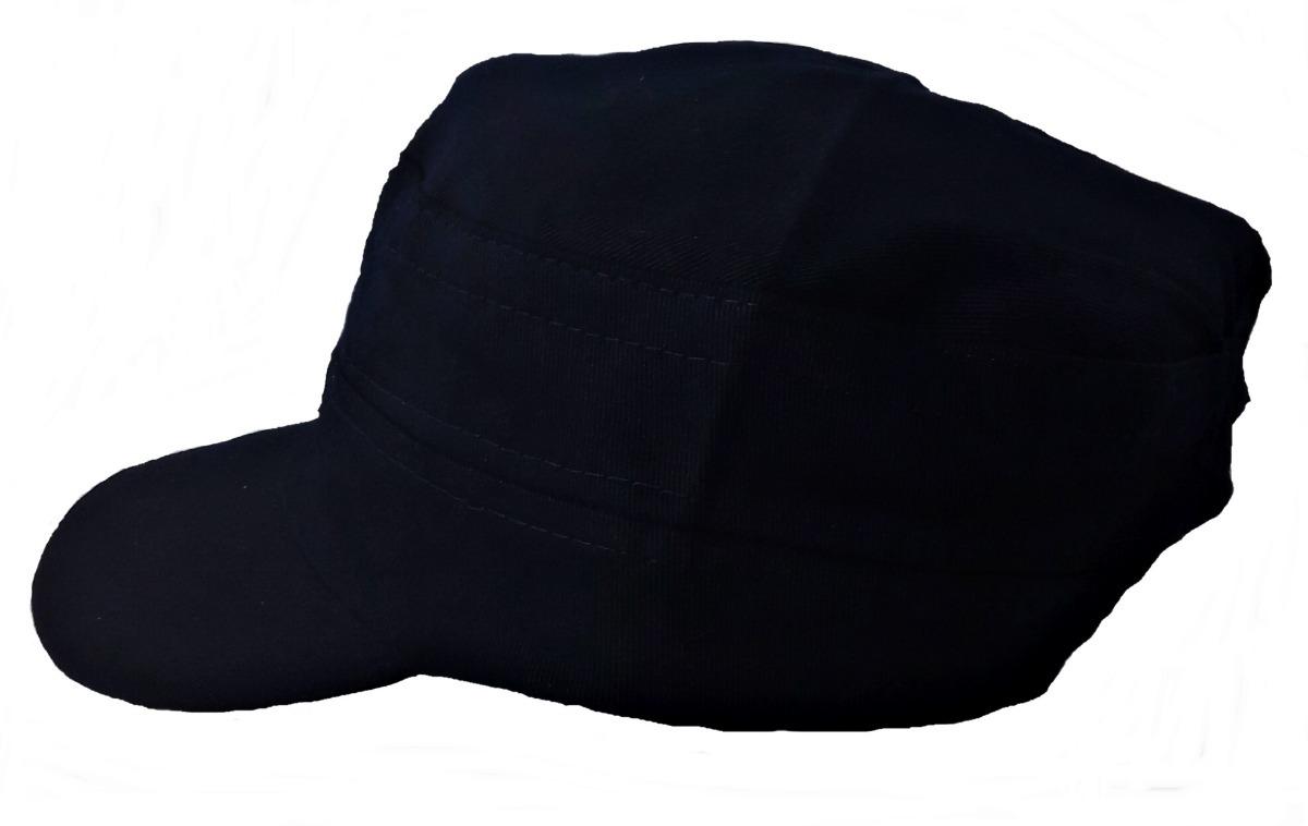 Quepe Boina Cap Tipo Militar Liso Aba Curta Várias Cores - R  23 aa241a851e8