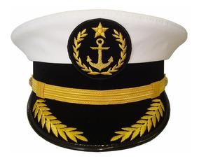 a6fa179501 Quepe Estilo Marinheiro Capitão Luxo
