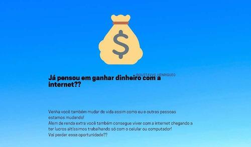 quer aprender a ganhar dinheiro com a internet?