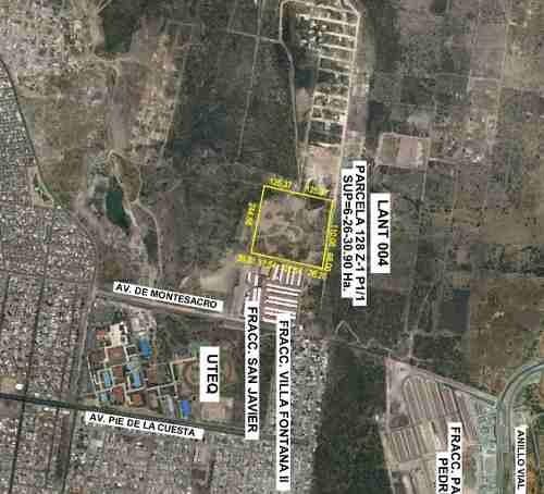 queretaro 6.25 hectáreas ejido san pablo