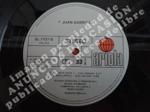 querida - juan gabriel (1984), disco sencillo de 12 pulgadas
