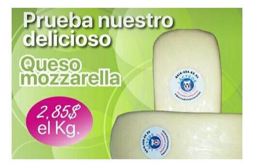 queso blanco llanero, semiduro y mozzarella