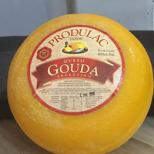 queso gouda produlac  apto celiacos