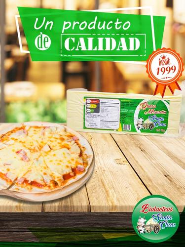 queso mozzarella - queso para pizza
