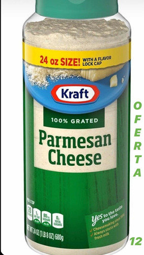 queso parmesano kraft