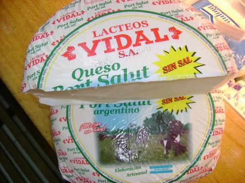 queso port salut sin sal vidal 1/2 horma