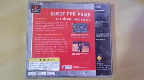 quest for fame original playstation 1 aerosmith - raro