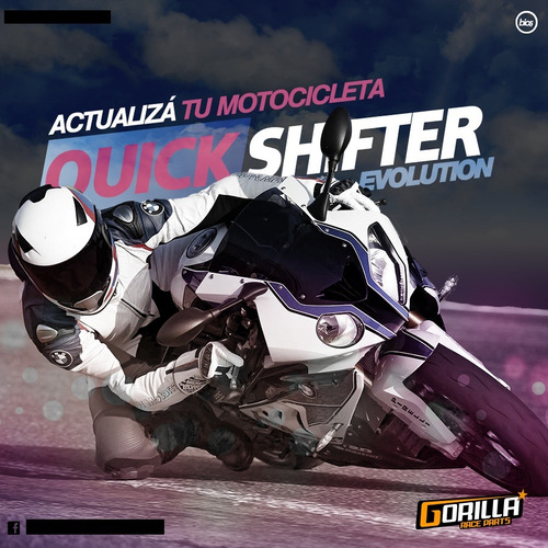 quick shifter gorilla evolution - sitio oficial