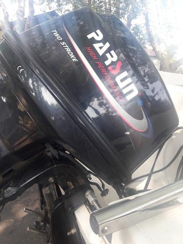 quicksilver 1500,motor 2 tiempos, viene con trailer, permuto