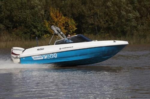 quicksilver 1650 0 km nueva (casco solo sin motor)
