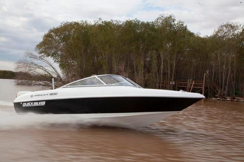 quicksilver 1800 con evinrude e-tec 135 hp ho 0 hs nueva!!!!