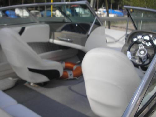 quicksilver 1950 con motor volvo 140 hp año 2008