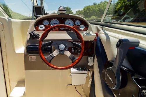 quicksilver 2002  4 tiempos 140 hp y cama nautica lange 21