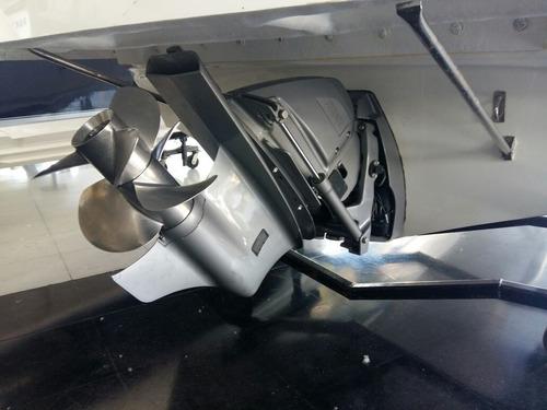 quicksilver 2400 + volvo 270 hp pata duo prop 2016 125 hs