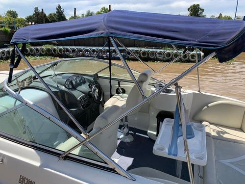 quicksilver 2400 volvo v8 270hp dp 2015 nueva  bs as barcos