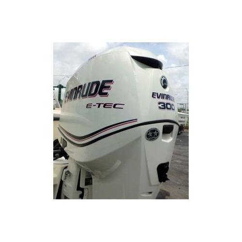 quicksilver 2500 con eveinrude e-tec 300 hp 0hs a matricular