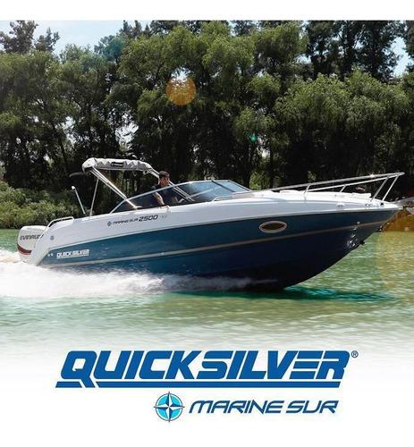 quicksilver 2500 ohs. realmente en stock nautica milione