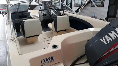 quicksilver 465 c/yamaha 60 hp.