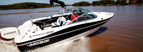 quicksilver marinesur 2000 c/ evinrude e-tec 150 hp 0km 2018