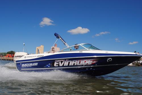 quicksilver marinesur 2000 c/ evinrude e-tec 200 hp 0km 2017