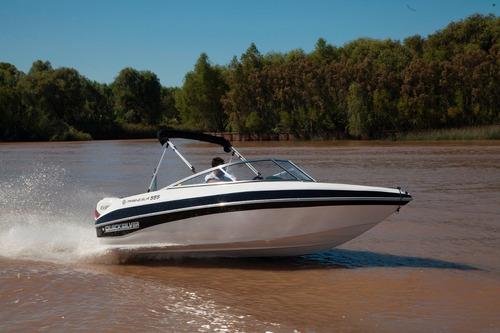quicksilver marinesur 555 c/ evinrude e-tec 130 hp 0km 2017