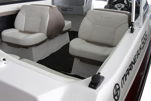 quicksilver marinesur 555 c/ evinrude e-tec 130 hp 0km 2018